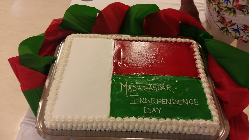 Torta k dňu nezávislosti Madagaskaru
