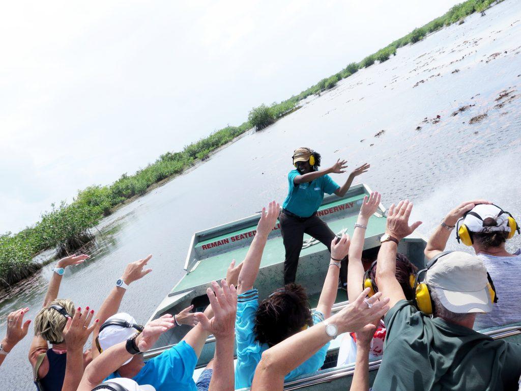 Airboat Safari Belize