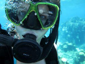 Potápanie na Roatáne. Zo života na lodi.