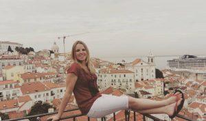 Vyhliadka na Alfamu v meste Lisabon