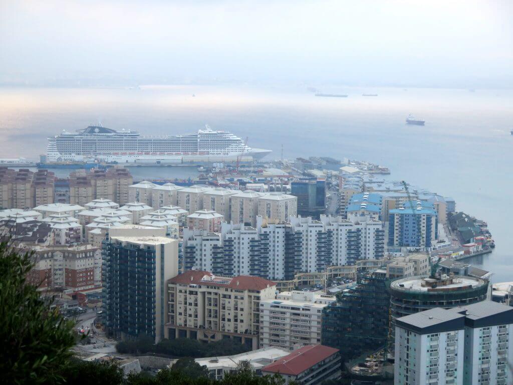 Výhľad zo Skaly - čo vidieť na Gibraltári