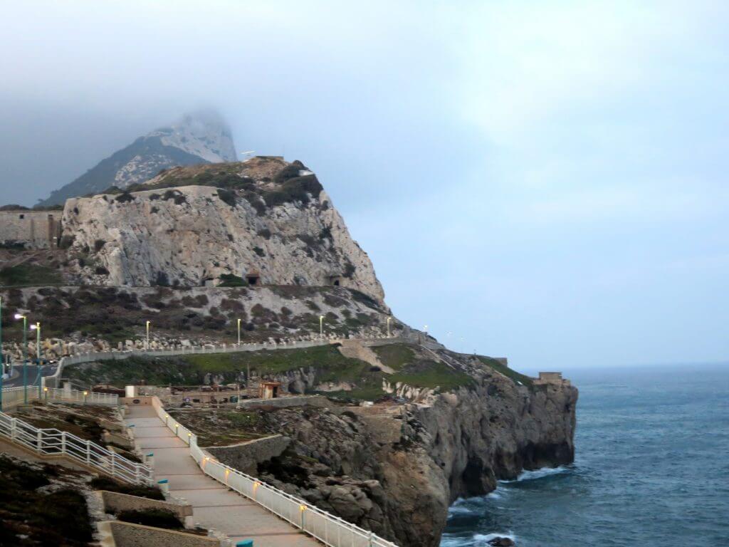 Europa Point, koniec ostrova Gibraltár