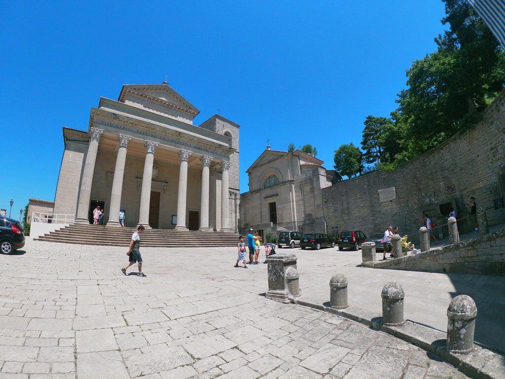 Basilica di San Maríno zvonku