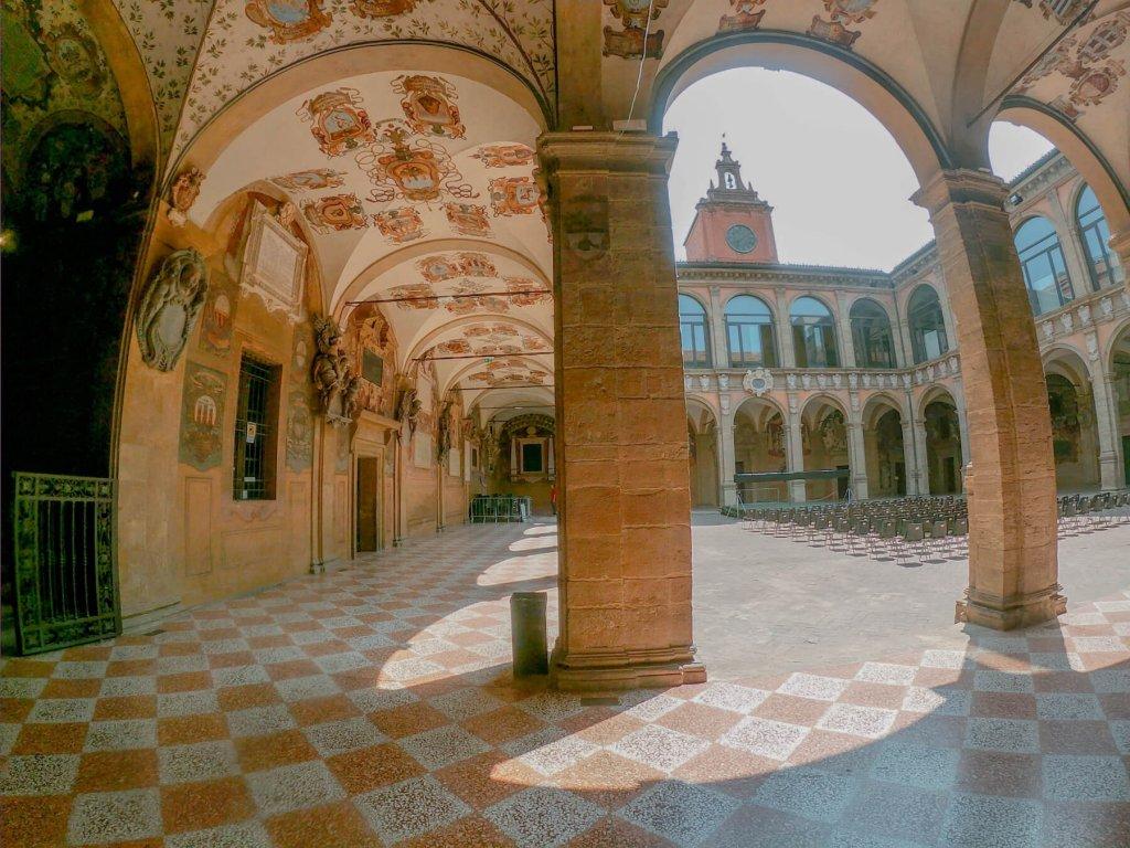 Pamiatka Archiginnasio z Bologne
