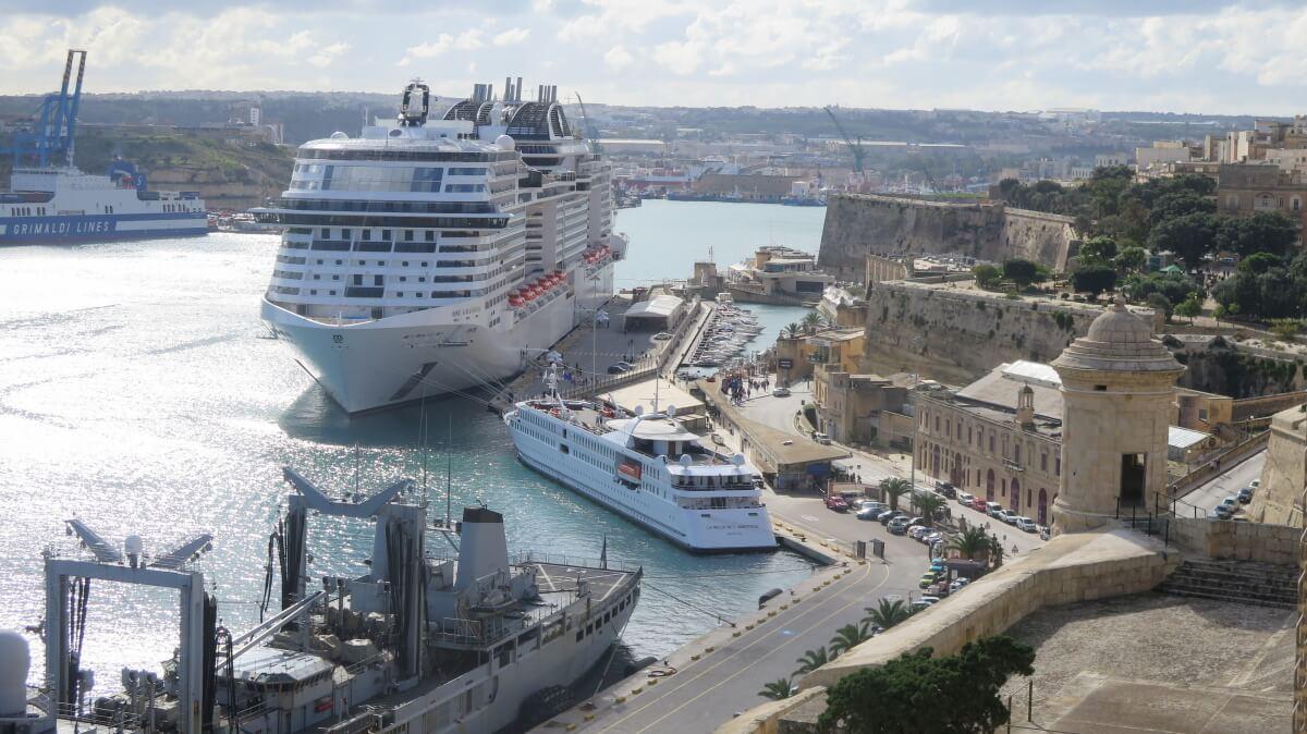 Praktický sprievodca (prístavom) Valletta a Maltou